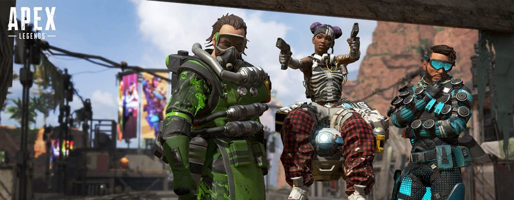 Apex Legends Caustic, Lifeline und Mirage