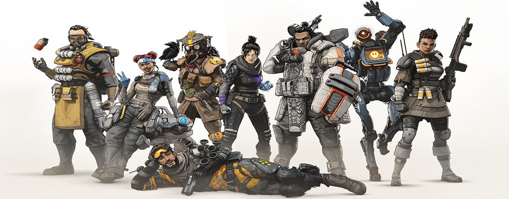 Apex Legends Legenden im Gruppenbild
