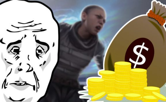 Apex Legends Spieler gibt zu viel Geld aus Titel