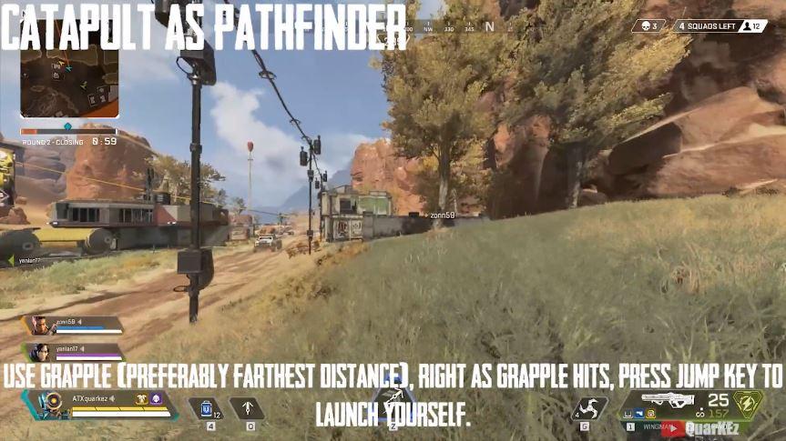 Apex Legends Pathfinder Katapult besser springen