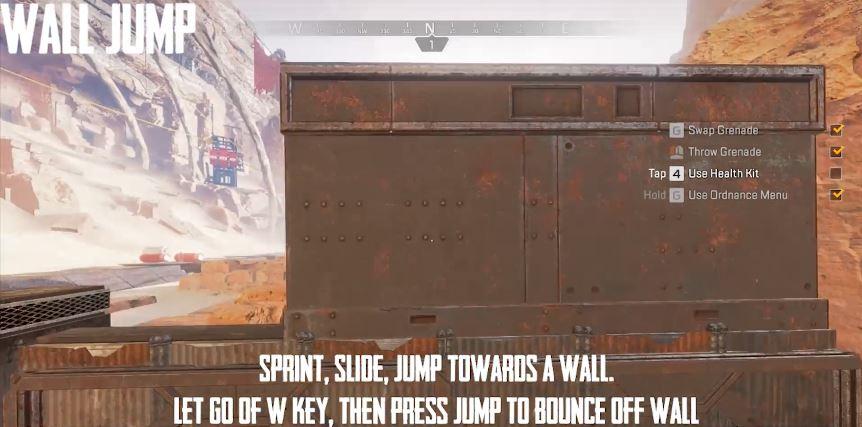 Apex Legens Wall Jump Erklärung
