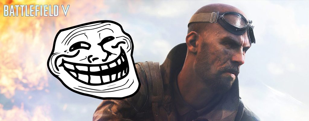 Battlefield 5 Troll-Face