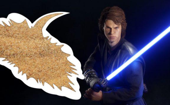 Battlefront 2 Anakin Sand yell