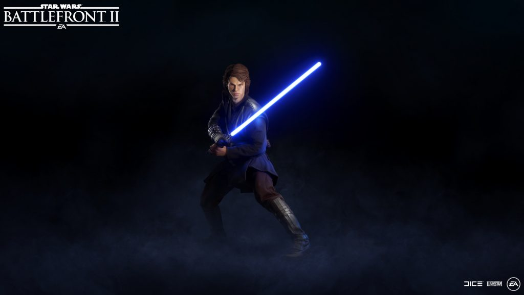 Battlefront 2 Anakin Skywalker Hero
