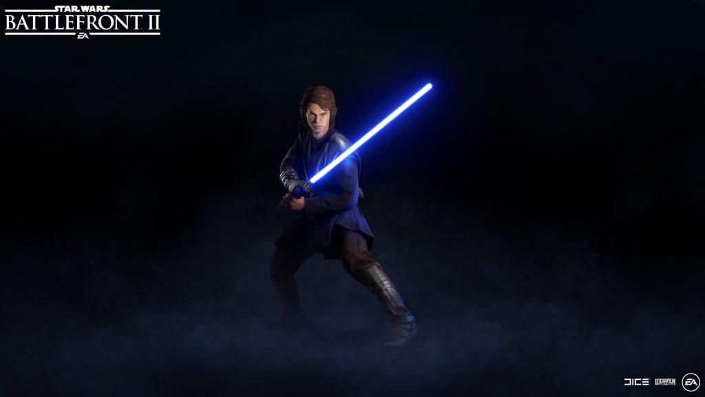 Battlefront 2 Anakin Skywalker Hero