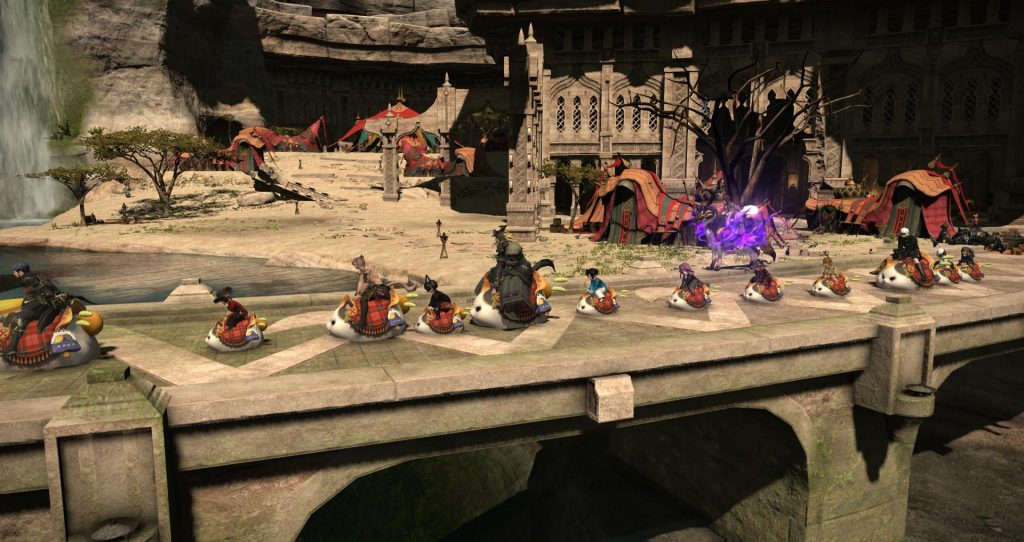 final fantasy xiv fette katze parade