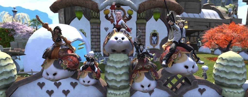 Diese fette Katze ist gerade das beliebteste Mount in Final Fantasy XIV