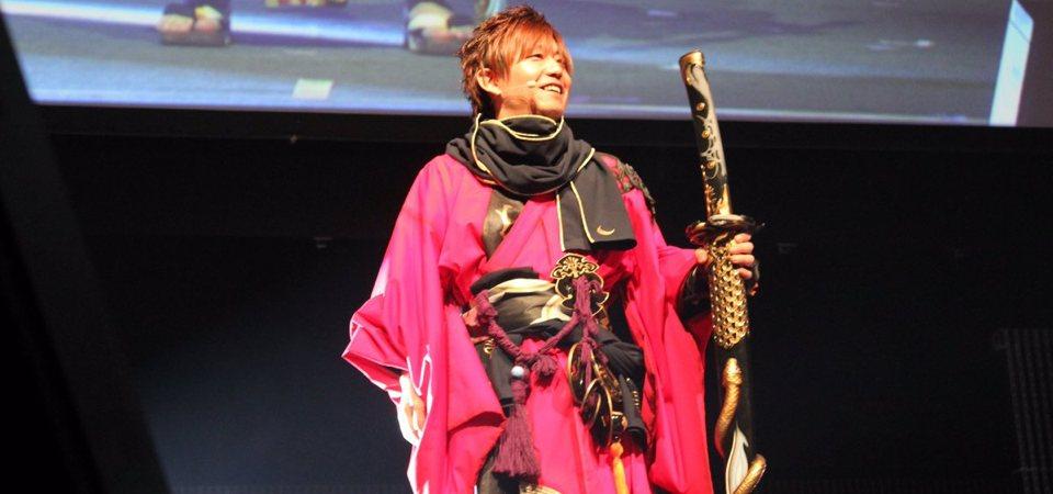 final fantasy xiv yoshida cosplay samurai