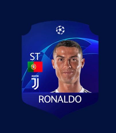 FIFA 19 CL Ronaldo