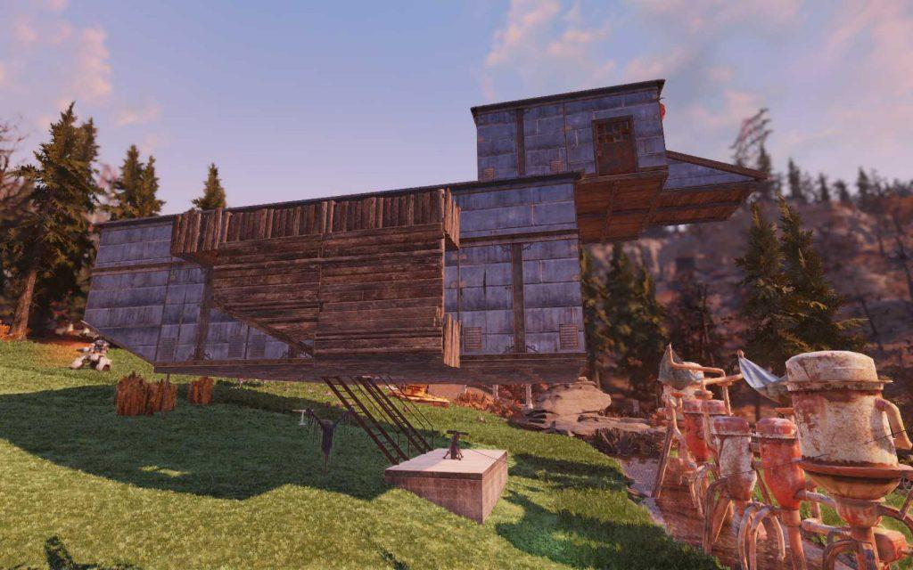 Fallout 76 Entenhaus von der anderen Seite