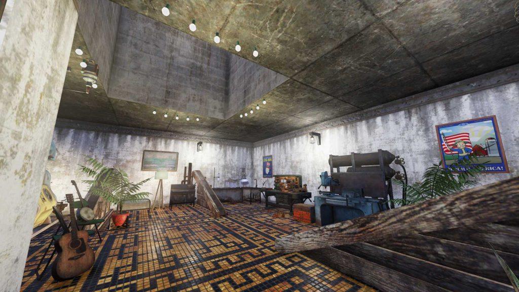 Fallout 76 Pyramide innen