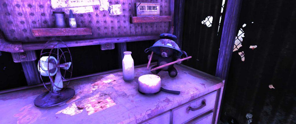 Fallout 76 Teddybären Drummer