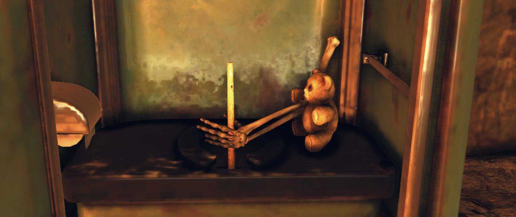 Fallout 76 Teddybären Toilette