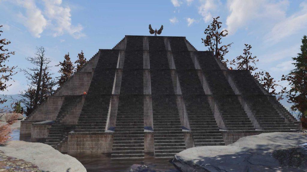 Fallout 76 Tempel des Mottenmannes vom Spieler