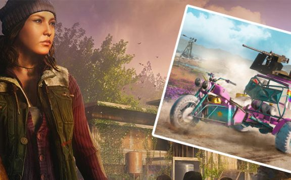 Far Cry New Dawn Einhorn Trike Titel