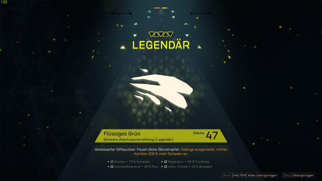 anthem-legendäre-abschussvorrichtung-flüssiges-grün