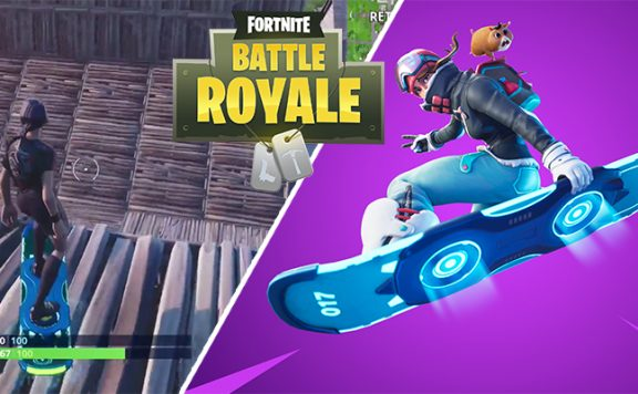 Fortnite Battle Royale Skate Drift Board Titel