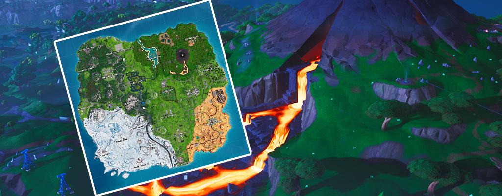 Fortnite: Alle Map-Änderungen aus Season 8 auf einen Blick