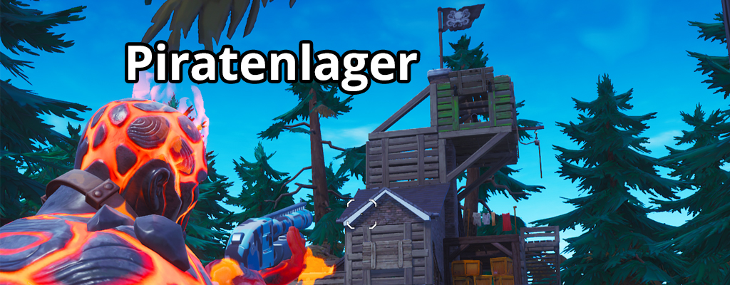Alle Piratenlager in Fortnite besuchen – Map mit allen Fundorten