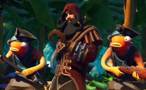 Fortnite Season 8 Pirat Schatz Krieger Titel
