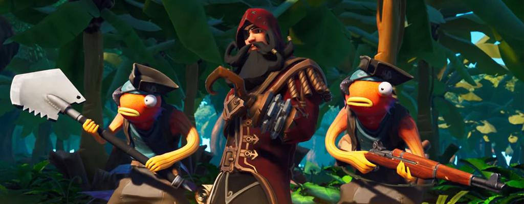 Fortnite: Trailer für Season 8 zeigt Piraten, Vulkan und legendären Schatz
