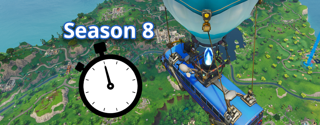 Start-Zeit und Ende von Season 8 in Fortnite wurden schon geleakt