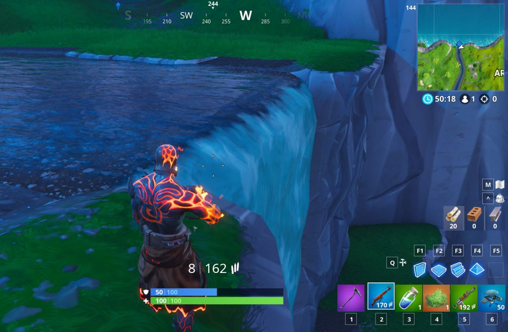 Fortnite Wasserfall Lazy Links Fundort