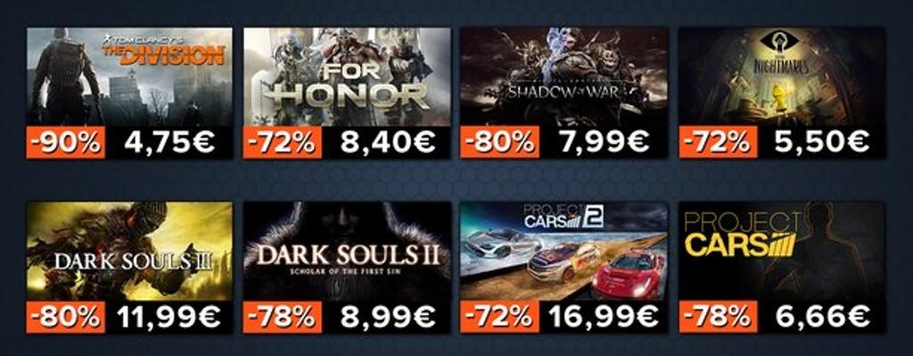 Gamesplanet: The Division für 4,75€ und weitere Spiele stark reduziert