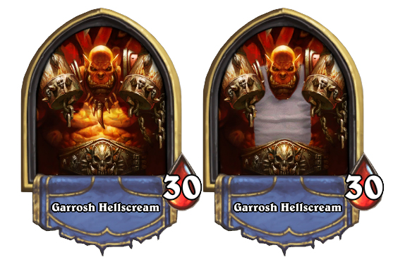 Hearthstone Garrosh Nerf