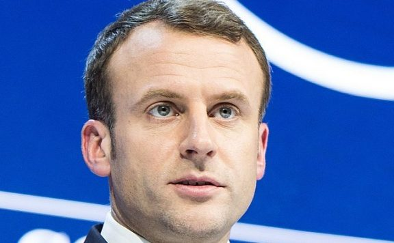 Präsident Macron