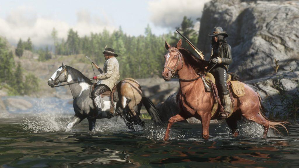 Red Dead Online Waffen Pferde Gewehre