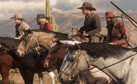 Red Dead Online Titel Pferde Waffen Gewehre