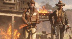 Red Dead Online Waffen Feuer Haus Hut Titel