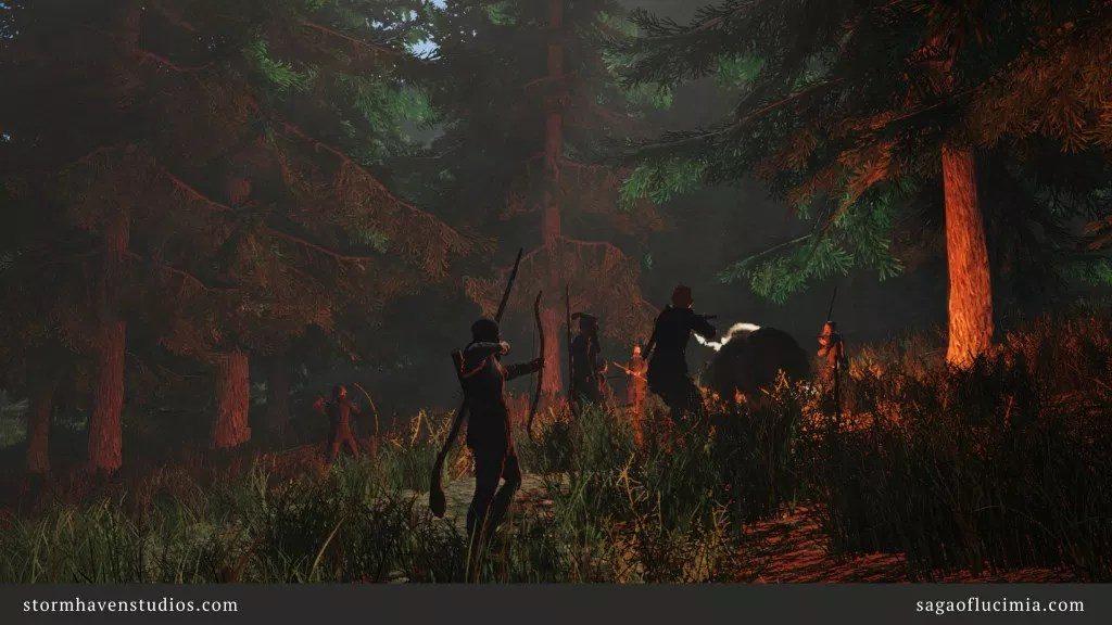 Das MMORPG Saga of Lucimia will die Zeiten von Everquest 1 wieder aufleben lassen.