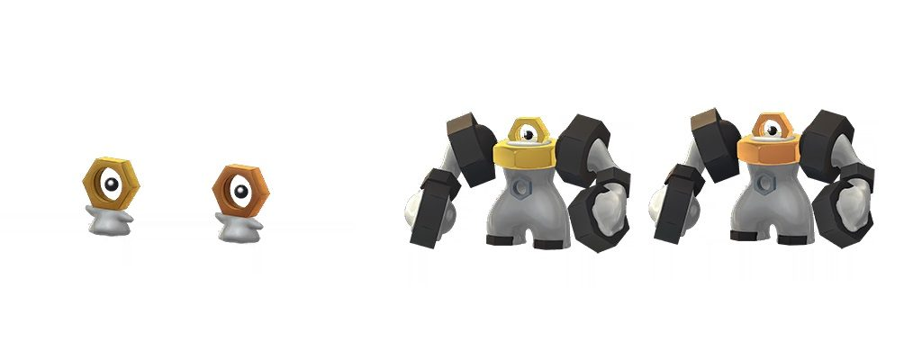 Shiny Meltan Melmetal Pokemon GO