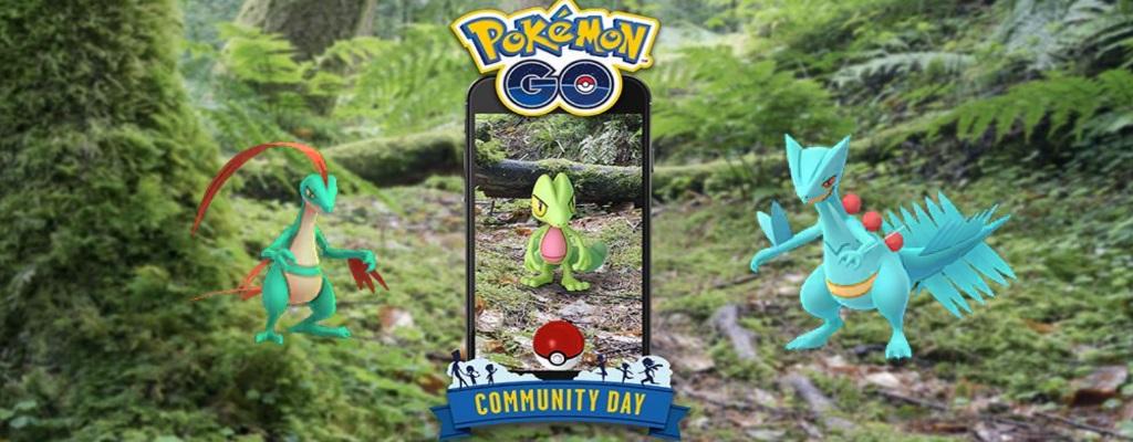 Pokémon GO: Community Day im März mit Geckarbor und neuen Event-Zeiten