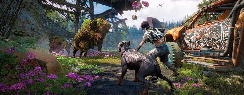 In Far Cry New Dawn schießt Ihr mit irren Waffen auf Mutanten-Tiere