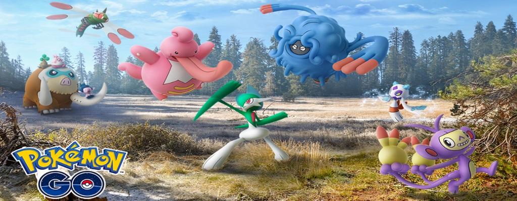 In Pokémon GO findet ihr jetzt diese 17 neuen Pokémon