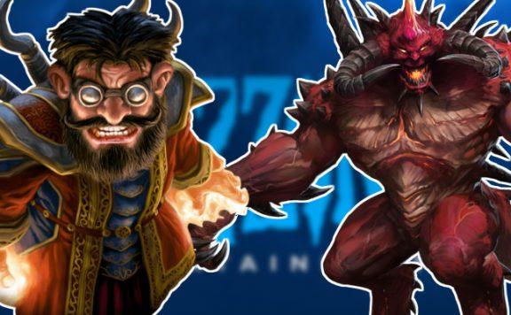 Warcraft Diablo Blizzard logo title