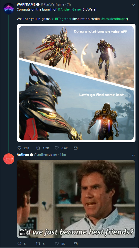 Warframe-liebt-Anthem-Twitter