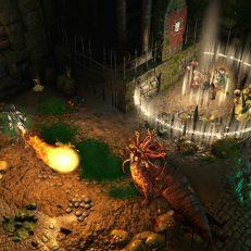 Warhammer Chaosbane Gameplay mit Feuer und Gegnern