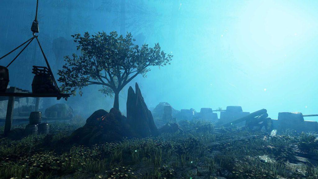 Warhammer Vermintide 2 Winds of Magic Screenshot düstere Farm