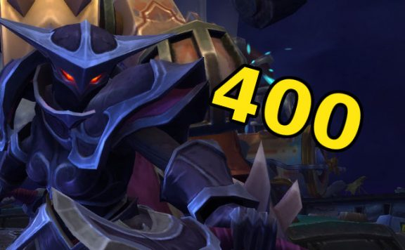 WoW Darkshore 400 title