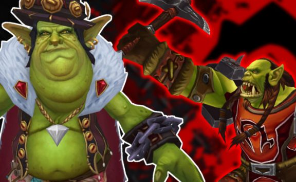 WoW Gallywix Orc Attack title