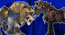 WoW Horse Wolf Mount title