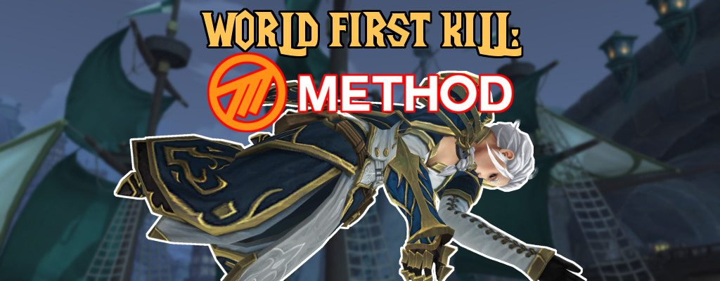 WoW Jaina Method World First title