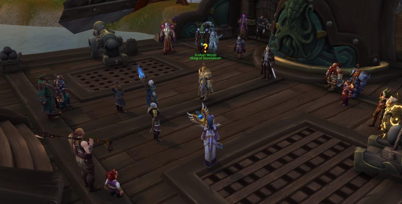 WoW Screenshot Kul Tiran Quest Crew
