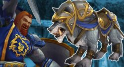 WoW Wolf Alliance Mount title