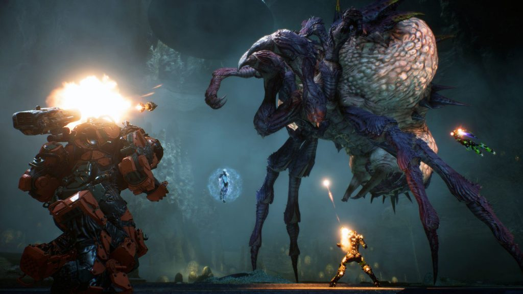Anthem Boss Fight Stronghold Mine der Tyrannin