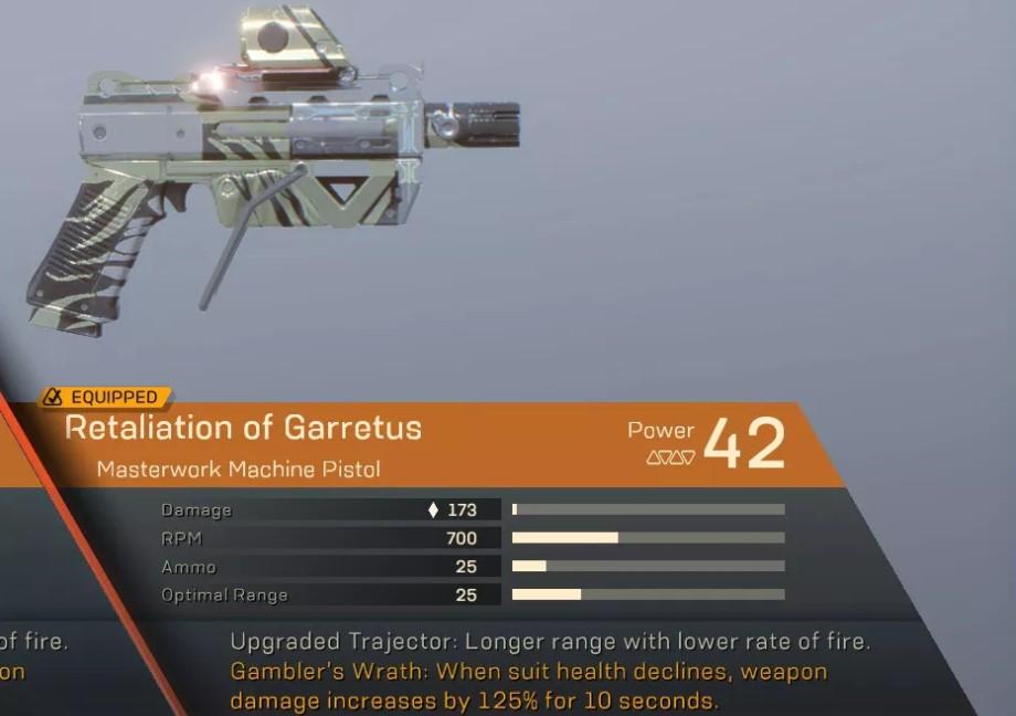 anthem-garretus-pistole
